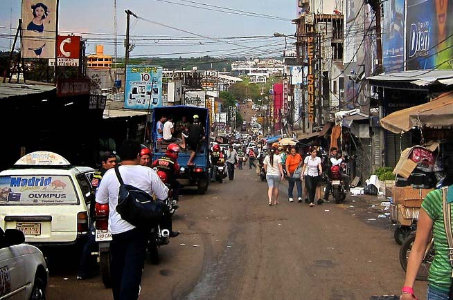 Ruas compras no paraguai