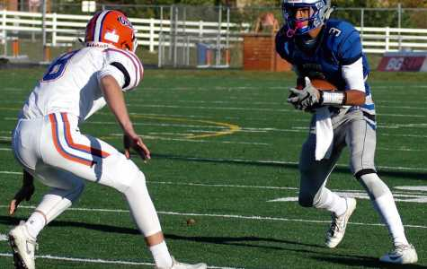JV football ends season with seventh straight win