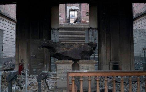 Fire destroys Brazil's National Museum