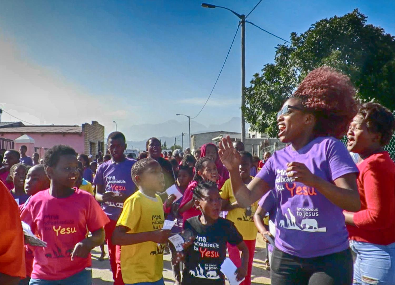 Zola/Nomzamo Children's March