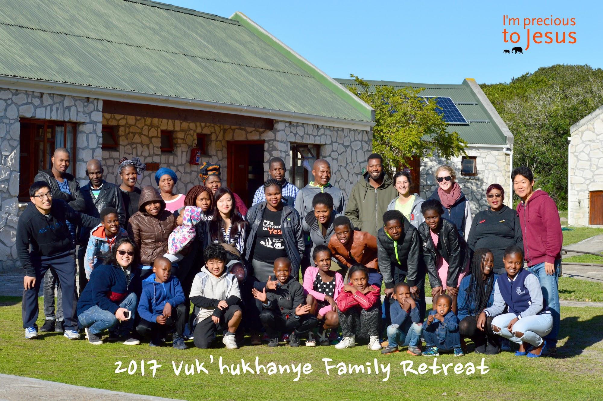 2017 Vuku (Golden Rule Families) Retreat