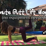 7 minute Butt Lift Workout, butt lift, quick workout, home workout, best butt exercises, best glute workout for women, bigger butt workout,