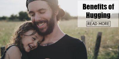 why hugging your child is importants