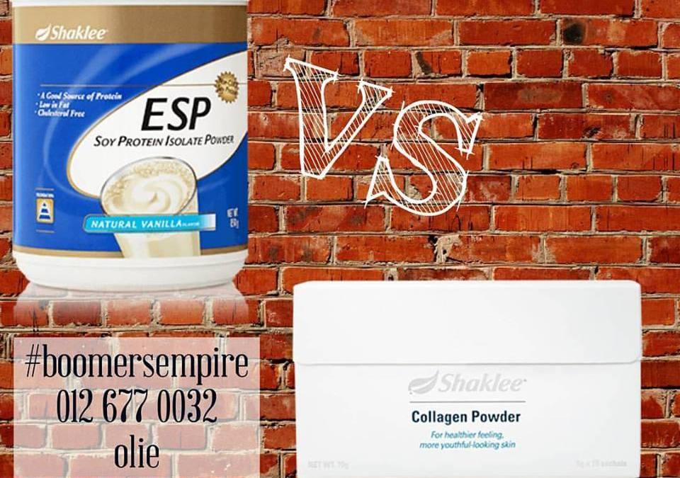 Perbezaan Collagen Dan Esp Shaklee, Mana Lebih Sesuai ?