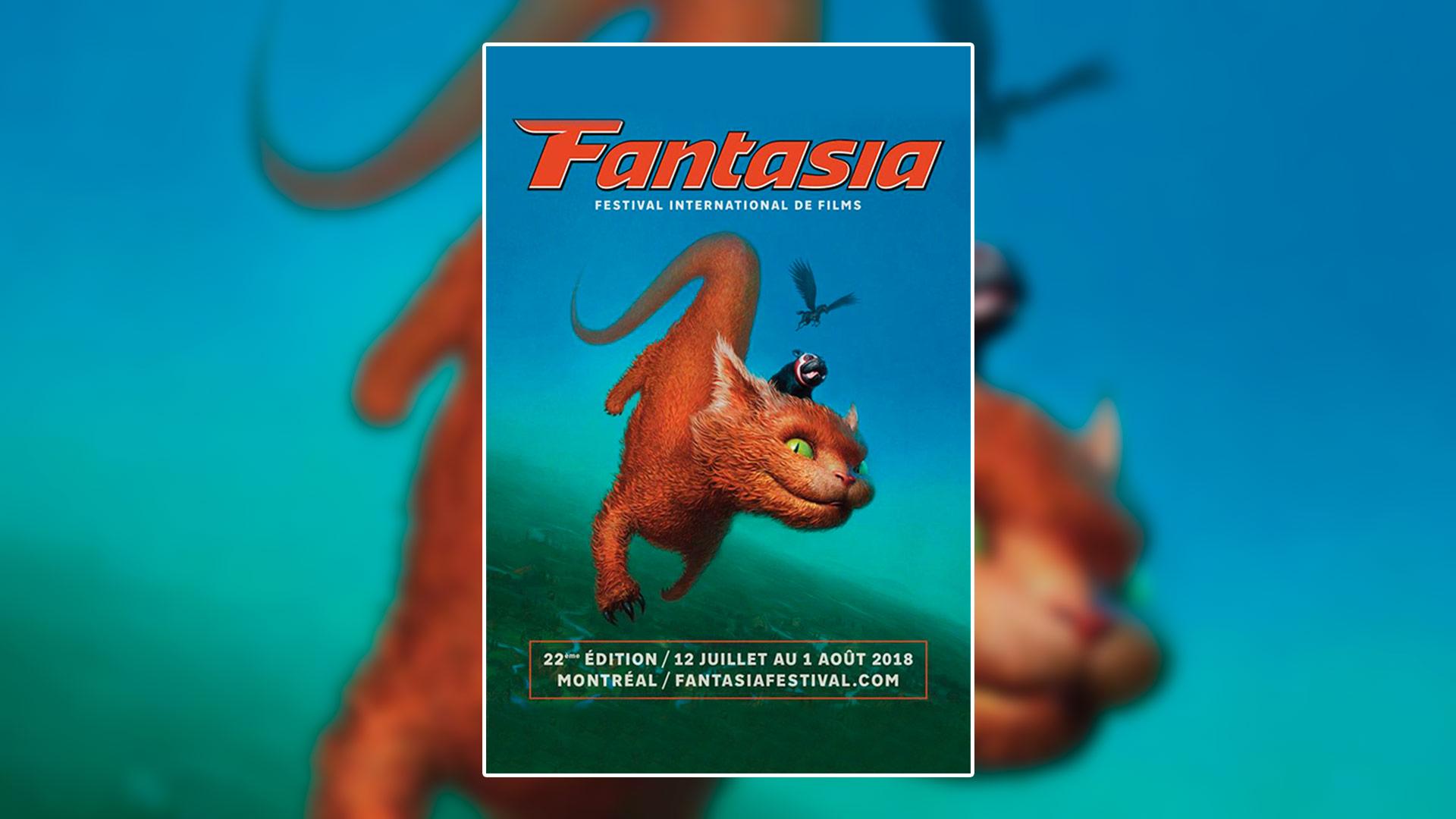 L'affiche Fantasia 2018