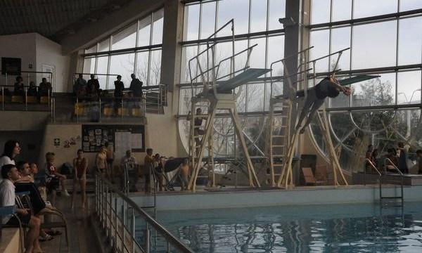 bacau - Olimpia cel mai bun club la Naționalele de sărituri în apă