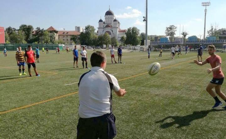 ru18 - Debut pentru rugbyști