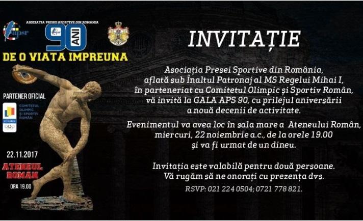 GALA APS 90 3 - CS Olimpia București la Gala APS