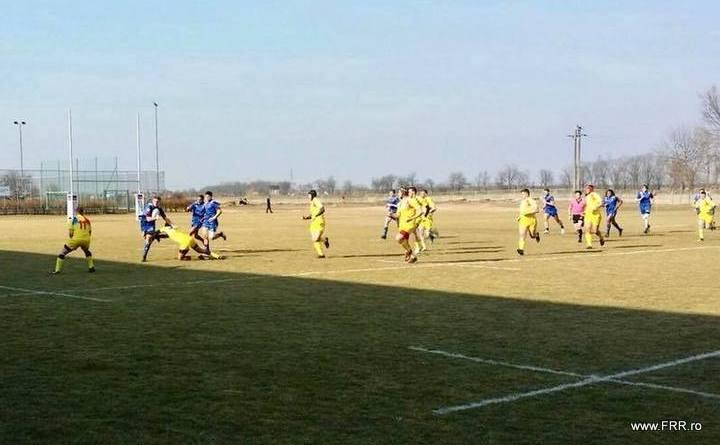 franta - Franța - România 67-8 la Campionatul European de rugby U18