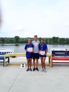 olca 1 - Titlu de campion național la canotaj