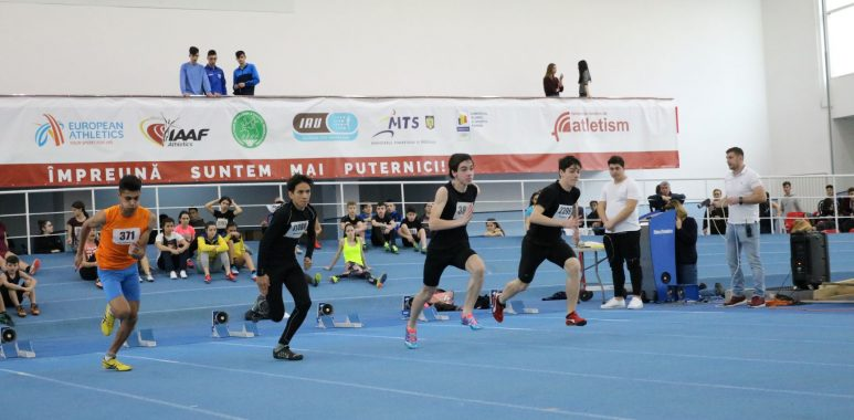 atletism - Atleții la prima competiție a anului