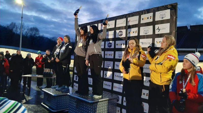 sigulda - Ioana Gheorghe dublă câștigătoare la Sigulda