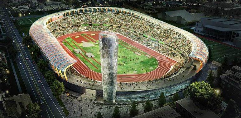 Eugene stadion 773x380 - Campionatele Europene de atletism au fost anulate