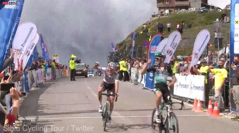 gregor 3 - Un rutier austriac a câștigat prima etapă a Turului Ciclist al Sibiului