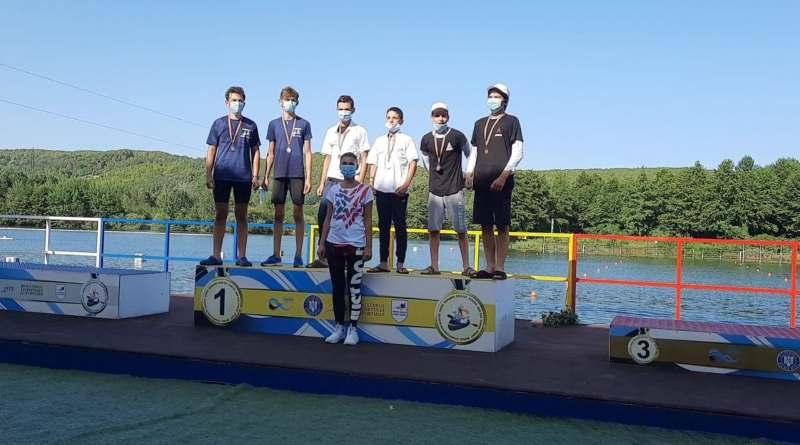 bascov 1 - Medalii pentru kaiaciștii Olimpiei