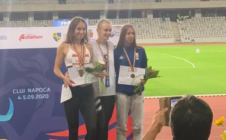 mm 1 - Atleții Olimpiei medaliați la Campionatele Naționale