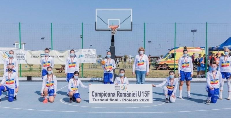 oli 1 - Olimpia București campioană națională la baschet U15