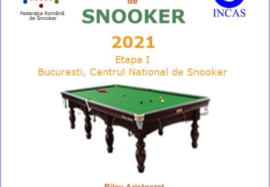 Start în Liga Națională de Snooker