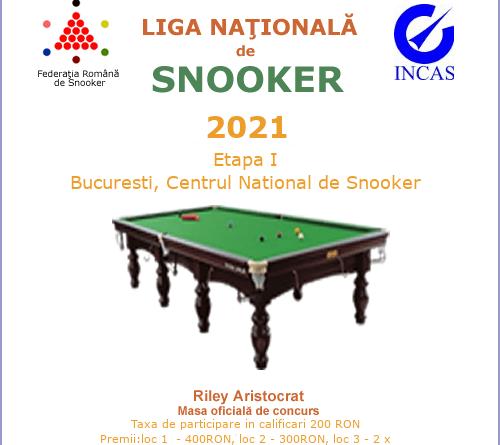 afish liga 121 - Start în Liga Națională de Snooker