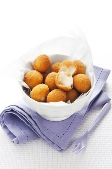 mozzarelline fritte in Olio Extravergine d'Oliva