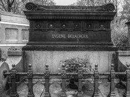 tombe Eugène Delacoix