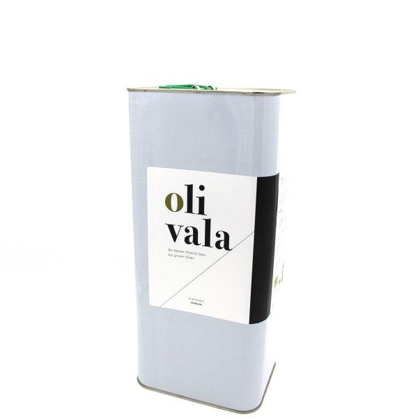 olivala Bio Olivenöl Extra Nativ, Kreta im 5l Kanister.