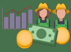 impacro economico agricultores