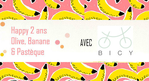 2 ans de blog... avec Bicy [Concours terminé]