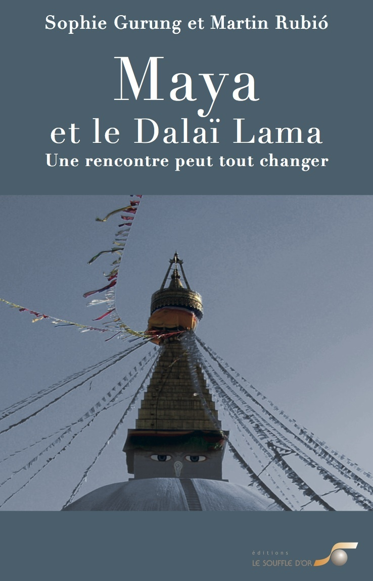 Maya et le Dalaï Lama