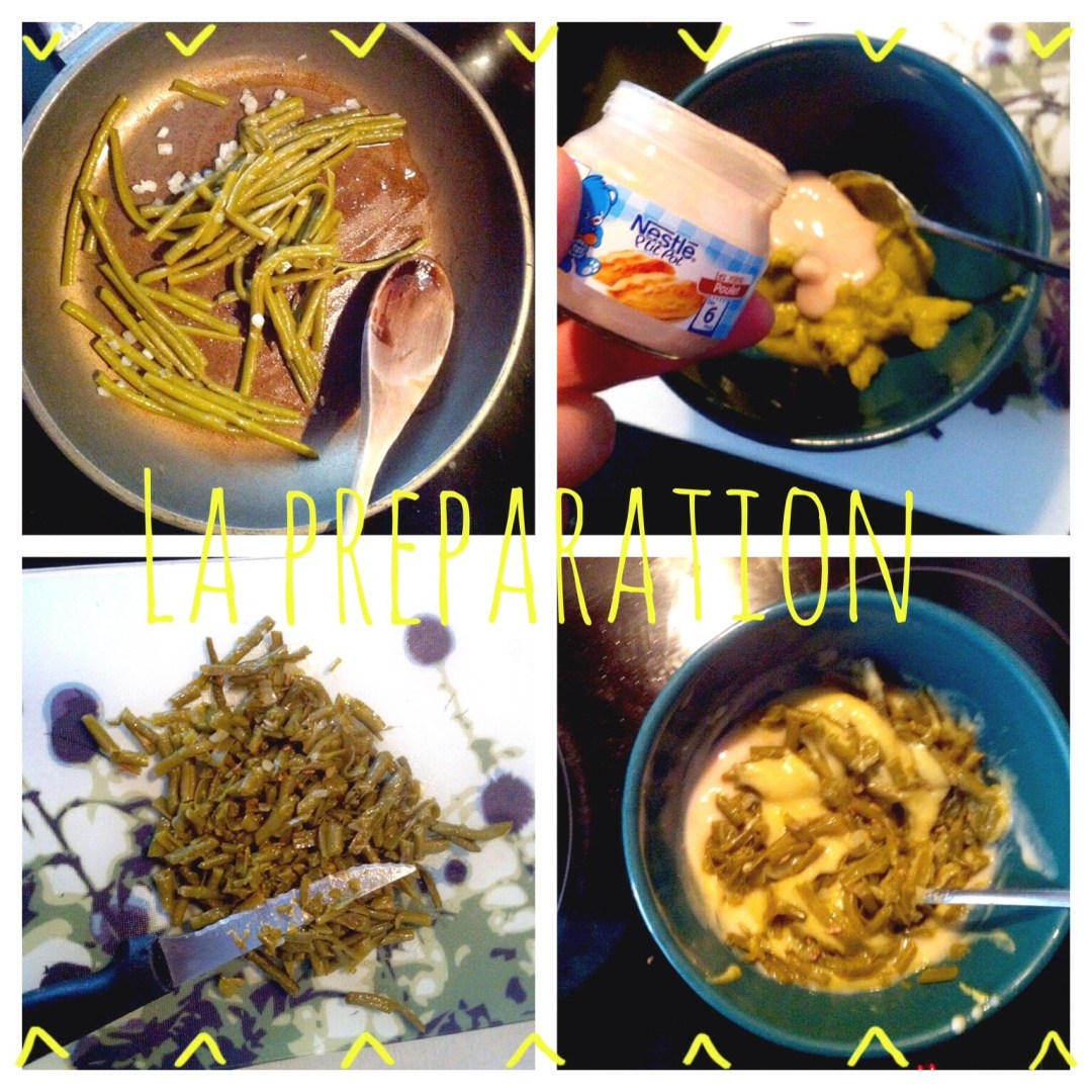 Recette #5 Poulet aux légumes verts