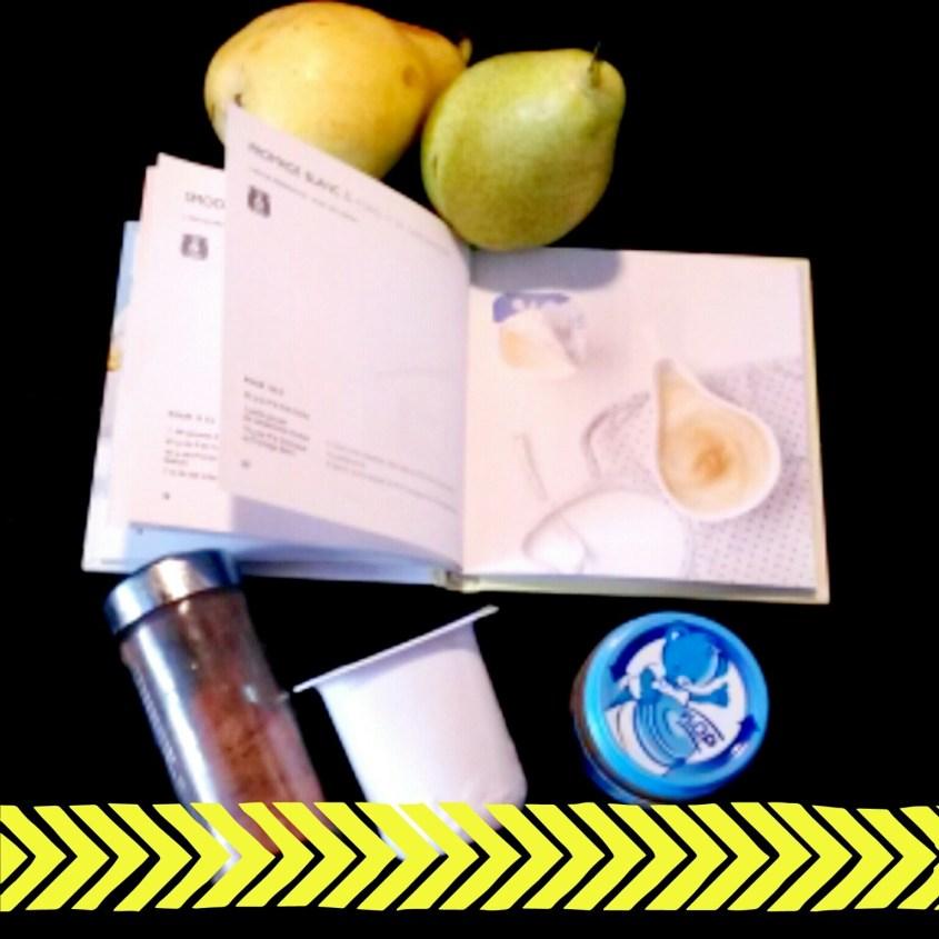 Recette #10 Fromage blanc & poires à la cardamone