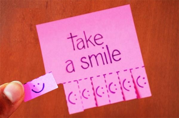 Le tag qui donne le smile #sourireenbarre