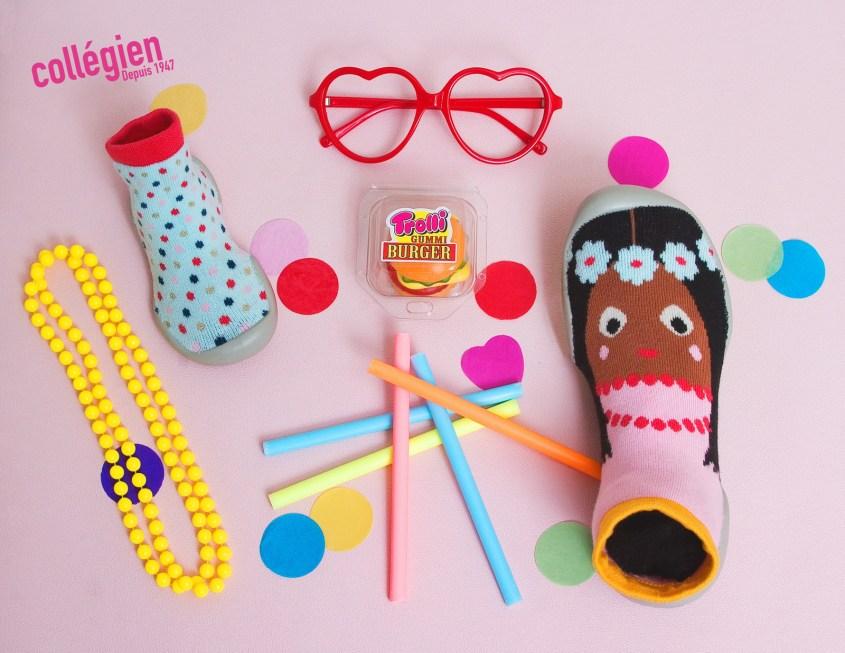 Les chaussons sweet chic de Collégien
