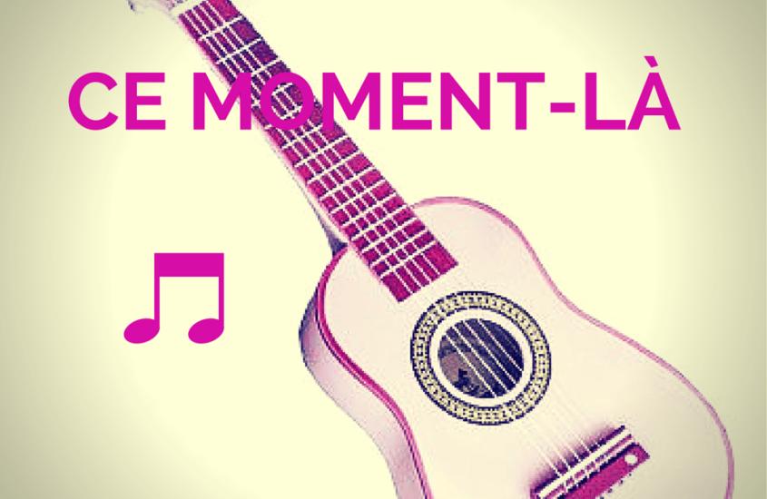 Ce moment-là, avec sa guitare
