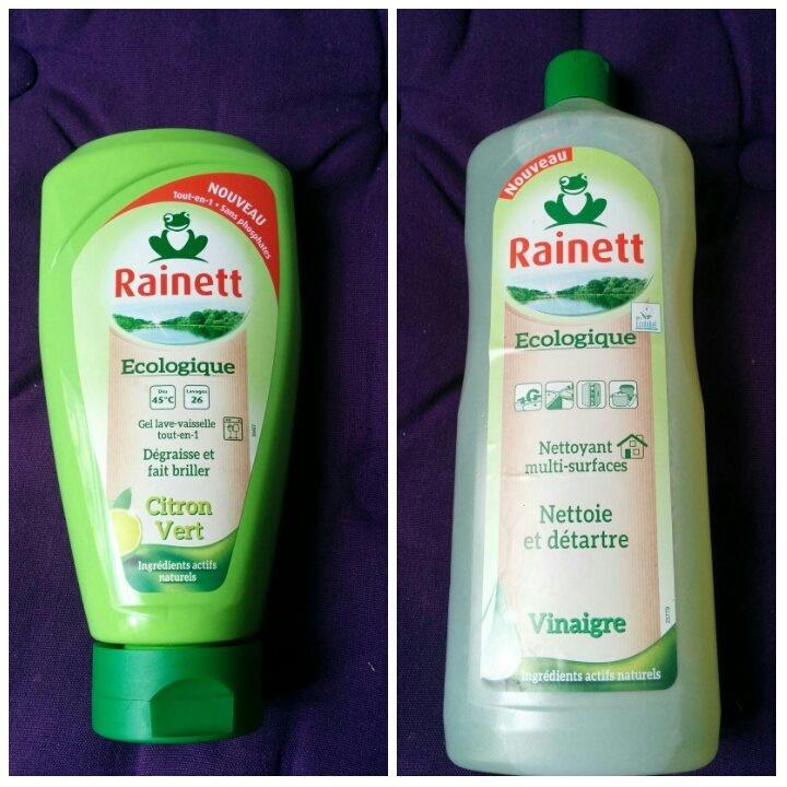 Les produits Rainett