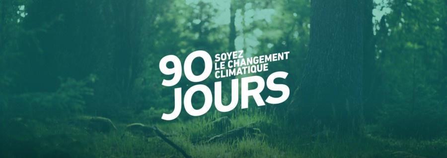 90 jours pour s'engager pour la planète