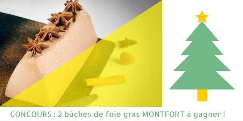La bûche de Noël au foie gras et au chocolat #mioum #Noel (concours terminé)