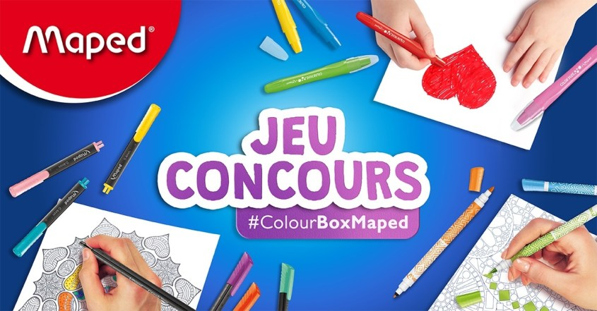 On a testé la super box #ColourBoxMaped (concours terminé)