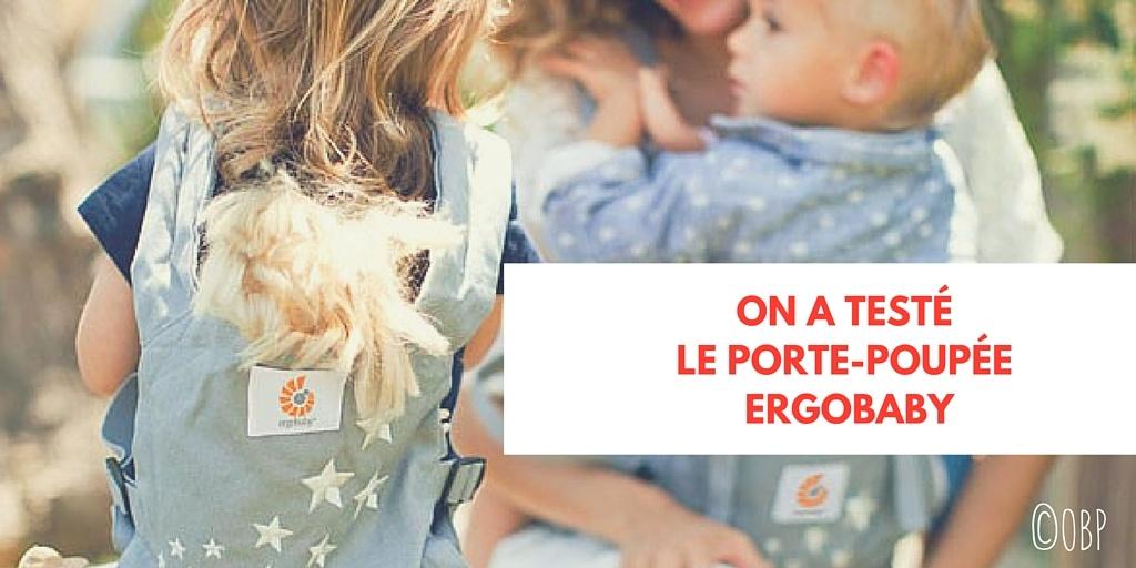 Le porte-poupée (et nournours) #Ergobaby