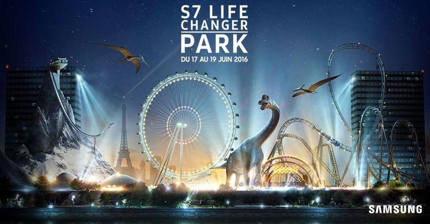 Et si tu testais le premier parc d'attractions de réalité virtuelle? #Paris #S7LifeChanger  (concours fini)