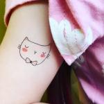 tatoo chat bernard forever