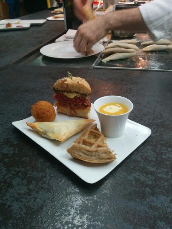 Burger, arancini, croustillant #Miam Entremont