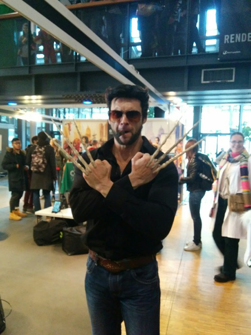 Wolverine à la Comic Con Paris Marvel