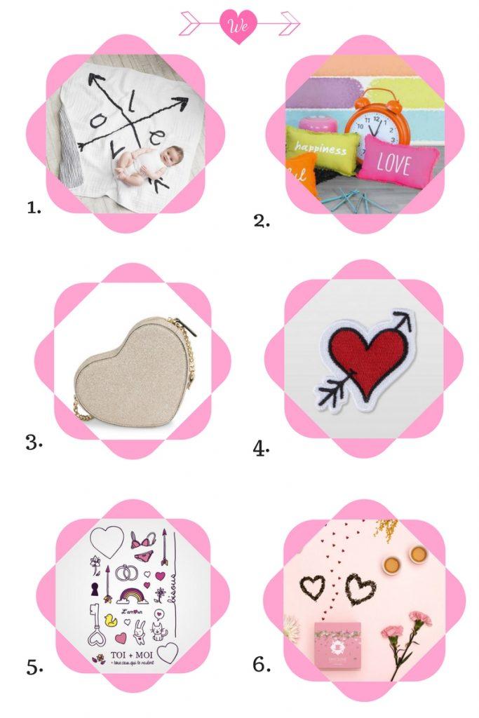 Sélection Shopping Love pour la Saint Valentin
