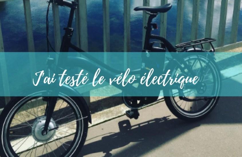 J'ai testé le vélo 2wenty by Momentum Electric