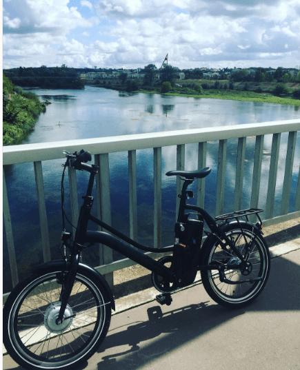 Mon nouveau vélo electrique Momentum