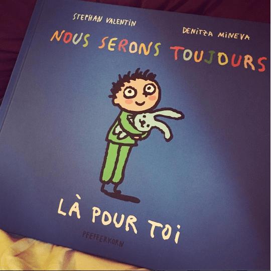 Book review Kids : Nous serons toujours là pour toi