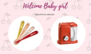 Shoping bienvenue bebe fille Beaba