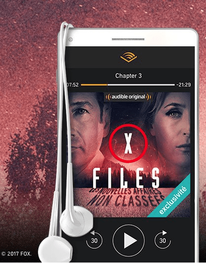 X-files sur audible
