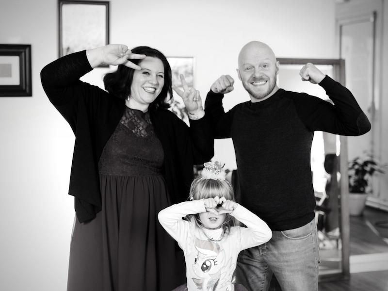 Notre séance photo familiale avec la shooting Box (concours fini)